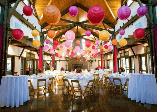 73 best wedding and party decoration ideas images on pinterest decorating ideas with paper lanterns lantern faqs junglespirit Gallery