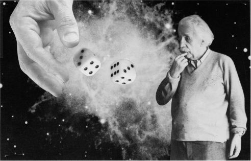 God plays dice with the universe, but their loaded dice.  The main objective is to find out by what rules they are loaded and how we can use them for our own ends.