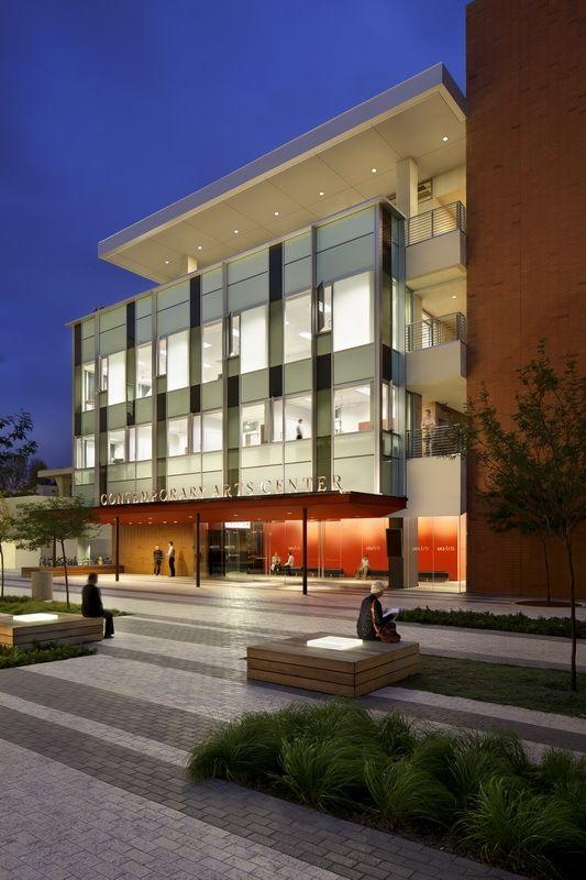 Centro de Artes Contemporáneas de la Universidad de California / Ehrlich Architects