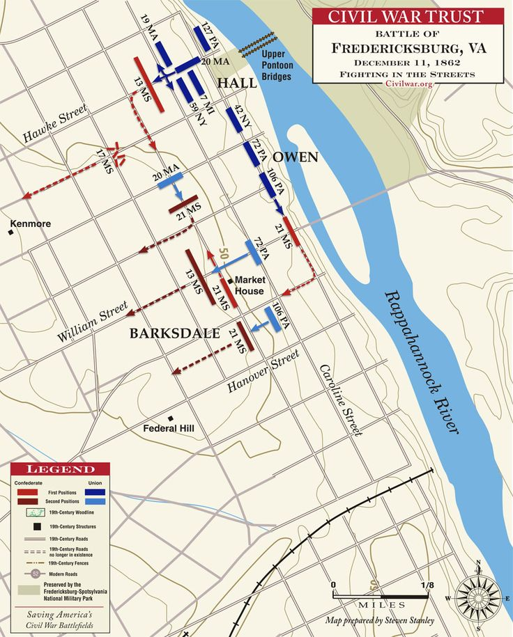 The Battle of Fredericksburg: The Fight in the Streets - December 11, 1862