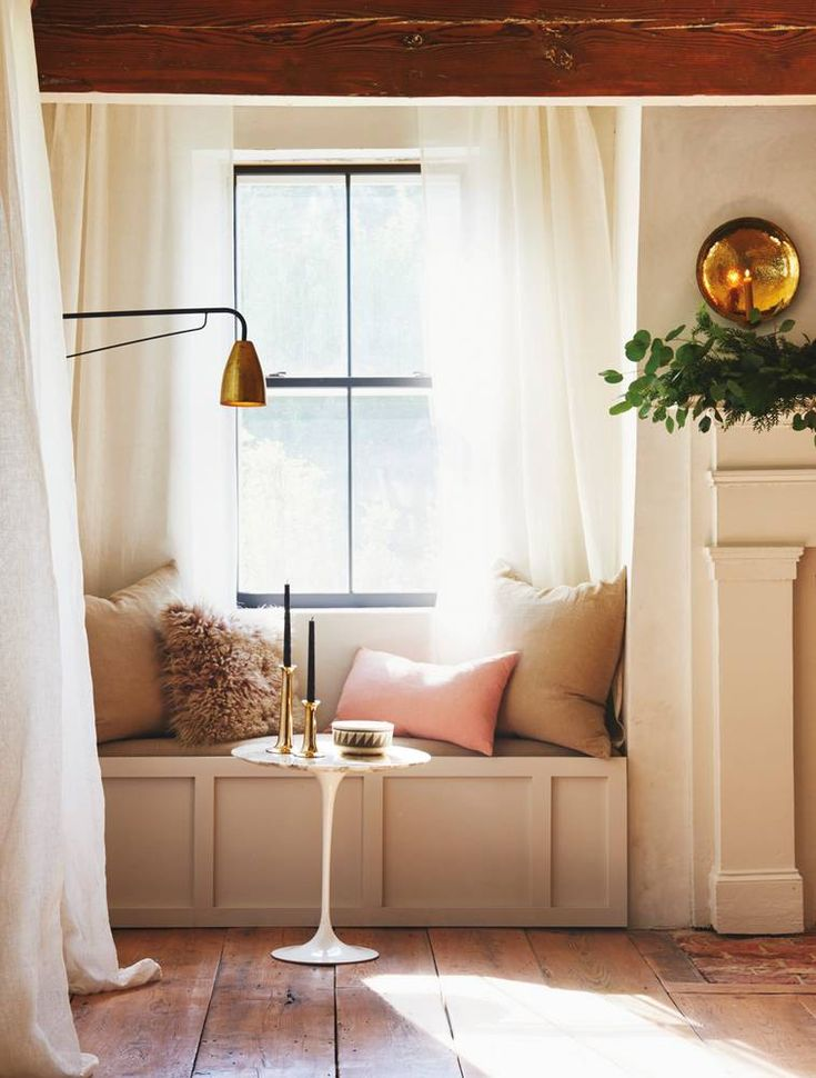 natural light (and reading nook) envy