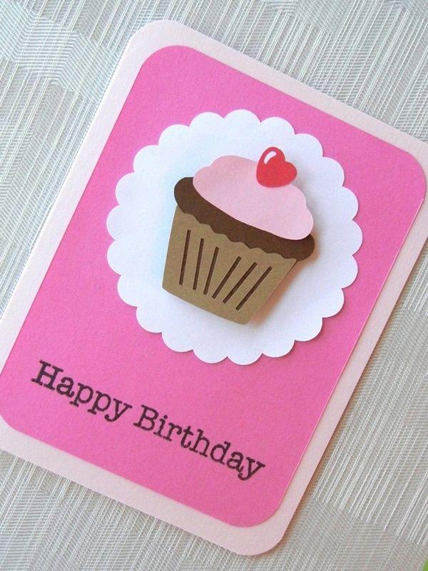 40 Diy Greeting Card Ideas You Can Use Practically Card Making Birthday Homemade Birthday Cards Easy Birthday Cards Diy
