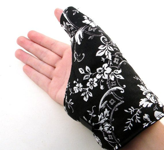 Heating pad for sore thumbs! Weather you've strained your digit by gaming or stiching or beading, this will help it feel better!
