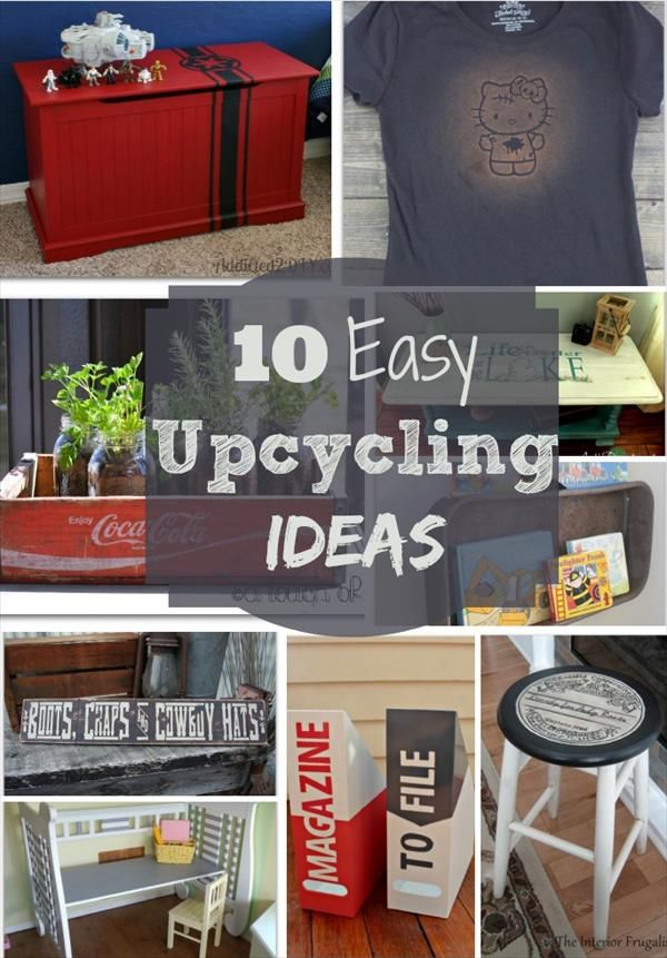 Diy recycling ideas home improvement pinterest - Upcycling ideas for the home ...