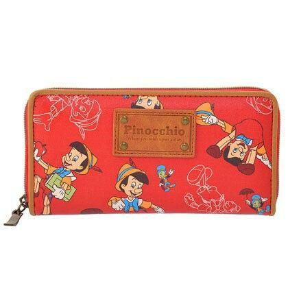 Pinocchio & Jiminy Cricket Wallet