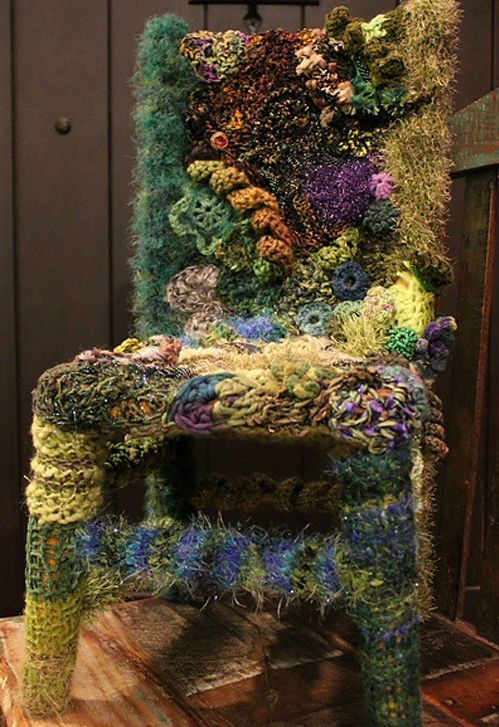 Wow! A Faerie Chair. No Home is complete without one....it's finding one that's the problem  ~ ;)) ~