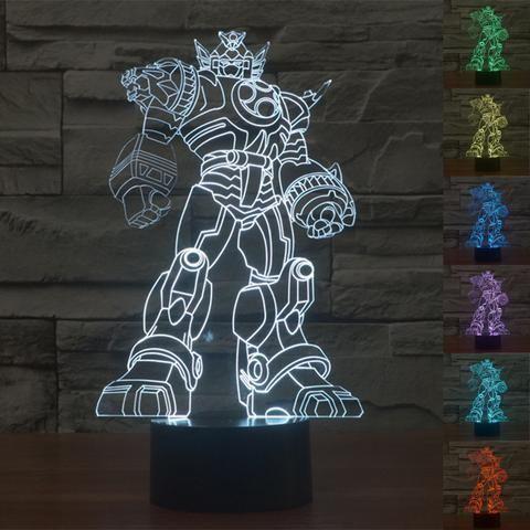 Transformers 3D Illusion LED Lamp