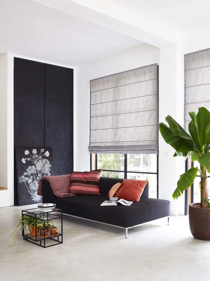 Vouwgordijnen van bece® #vouwgordijnen #inspiratie #windowfashion
