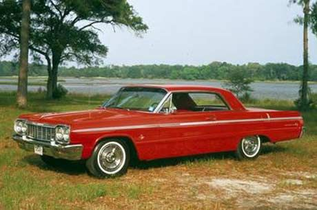 My mom had a Chevrolet Impala back in the '60s.  I now own a 2008 model.  They look nothing alike!!
