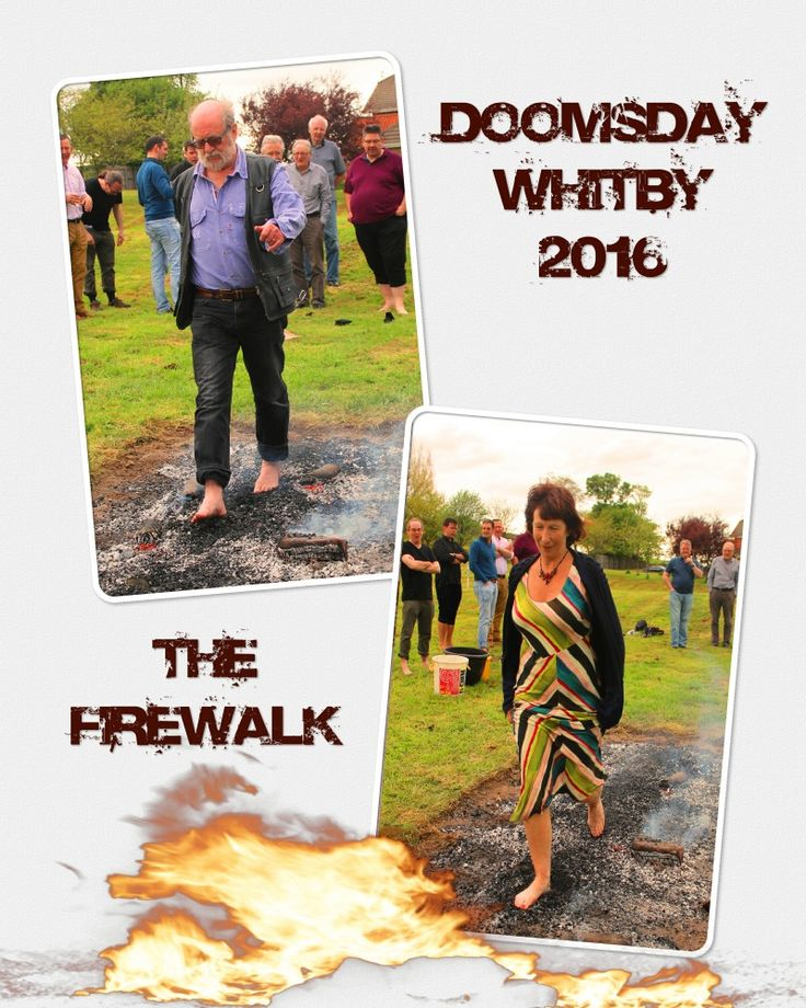 Just back from a great weekend in Whitby at the Doomsday bizarre magick gathering. More information soon. In the meantime, by request, here are a couple of pics of the Friday evening Firewalk. I tr…