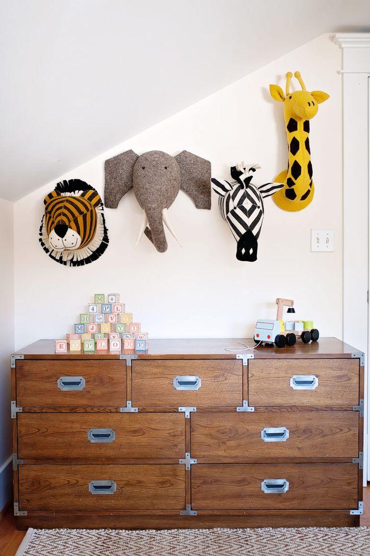 Boy's Room | Kid's Room | Toddler Room | Animal Theme | Kitty & June