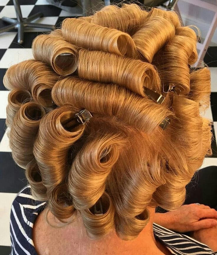 Pin By Rick Locks On Curls Pinterest Hair Curlers Rollers