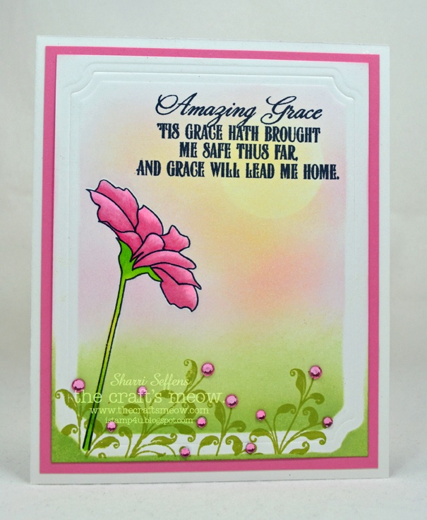 iStamp4u: The Crafts Meow also used Hope Blooms