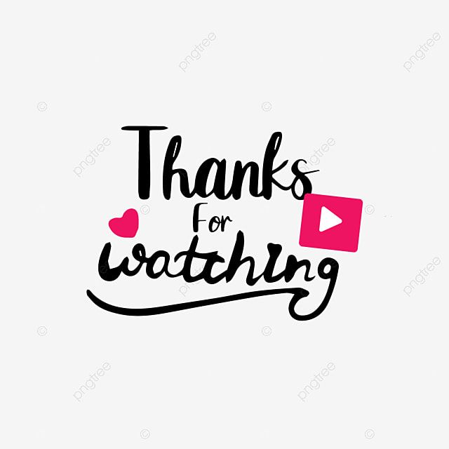 Hand Drawn Thank You Watch Play Font Play Pink Watch Png And Vector With Transparent Background For Free Download Youtube Banner Backgrounds Youtube Banner Design First Youtube Video Ideas