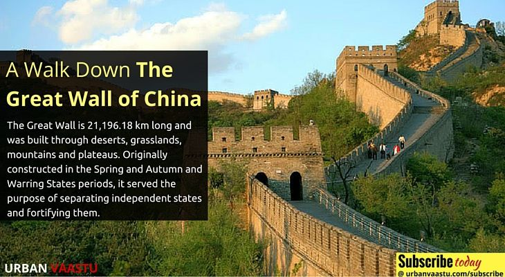 A Walk Down The #Great #Wall of #China #UrbanVaastu