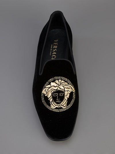 VERSACE - logo loafer 7