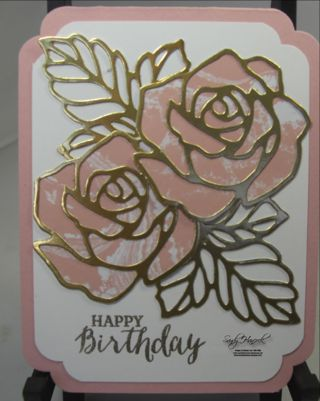 Rose Wonder with the Perfectly Artistic (FREE) Designer Papers