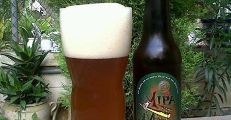 Marca: BrewDog.  Clase: Jack Hammer.  Fabricante: BrewDog.  Cerveza de cebada.  Estilo: Indian Pale Ale.  Fermentación: Alta.  Grados: 7,2%.  Lote: 190.  CP: 14-08-14.  Procedencia: Escocia.
