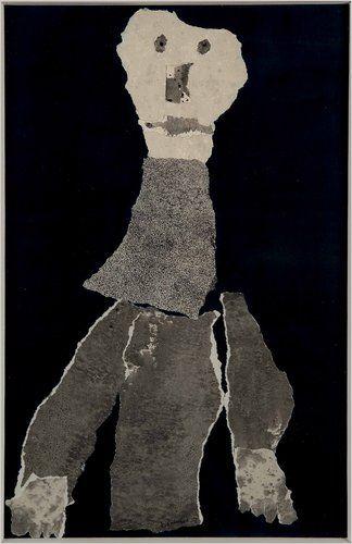 Clairvoyant beard | Jean Dubuffet, 1959
