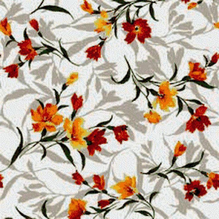Цветочная подушка - Схемы вышивки - Riele - Авторы - Портал «Вышивка крестом»
