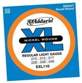 D'ADDARIO E-GITARREN SAITEN / EXL110 / .010-.046 / REGULAR LIGHT € 6,62