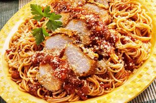 Salted spaghetti with Parmesan cheese is always welcome at the table. Especially …   – Pasta