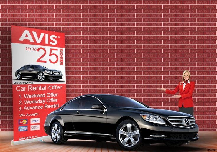Avis India, the preferred Car Rental company provides you special discounts up to 25% on weekday, weekend & Advance bookings especially on luxury cars and premium cars. Our chauffeurs are well mannered, civilized, well trained and bilingual who will help you in every direction. So Visit our website and select your favorite car on rent in 30 Indian cities and enjoy the pleasing vacations and time with your family and friends.