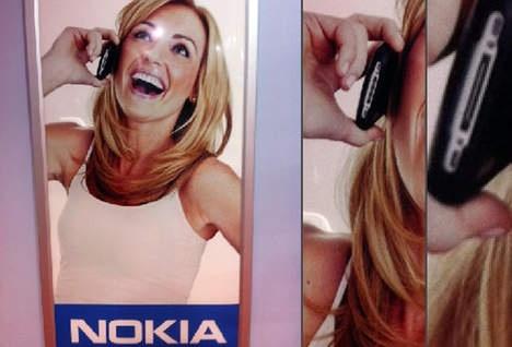 Nokia maakt reclame voor de iPhone??!