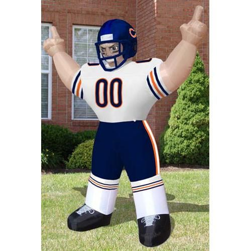 """NFL Chicago Bears Inflatable """"Tiny"""" Football Player  www.mancavesonline.com"""