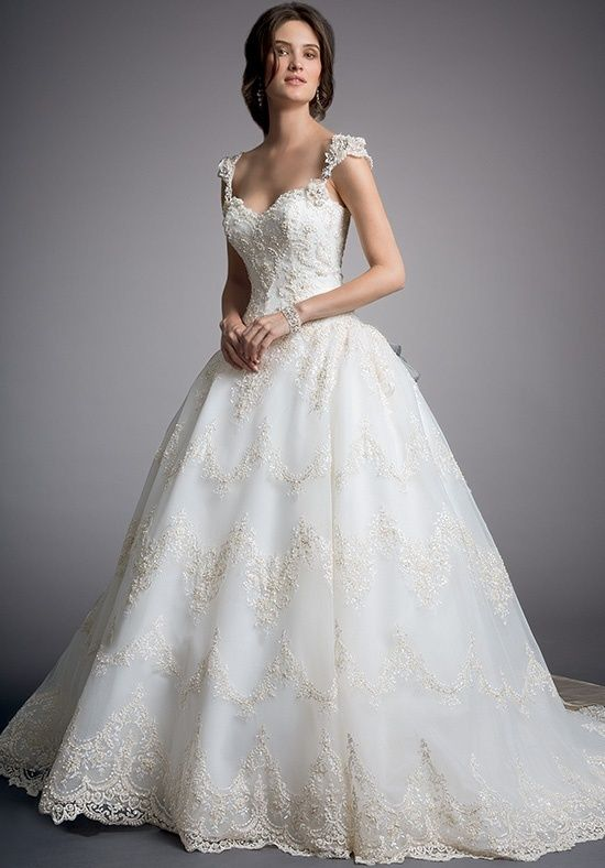 Eve of Milady Couture 4319 Wedding Dress - The Knot  Straps, ball gown, sweetheart $5000-$6000