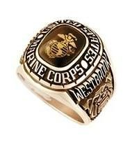 Marine Corps Rings in a range of styles and colors.  All rings are available in Gold and Silver. #Marine Corps rings are designed to reflect the traditions and honor of the values of a Marine.
