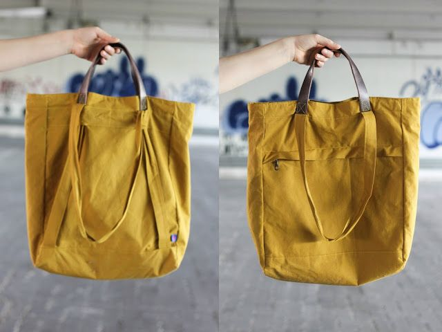 Eine Tasche, die alles kann • Totebag und Rucksack - Seemannsgarn • handmade