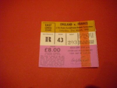 1981 #england v #france rugby #ticket,  View more on the LINK: http://www.zeppy.io/product/gb/2/361244022078/