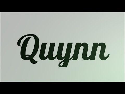 Significado de Quynn, nombre Irlandés para tu bebe niño o niña (origen y personalidad) - YouTube