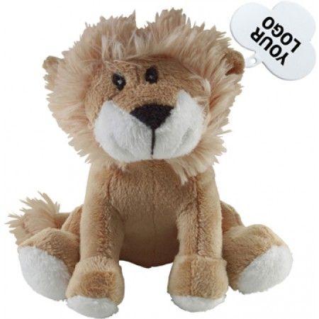 Pluchen knuffel 'leeuw'.