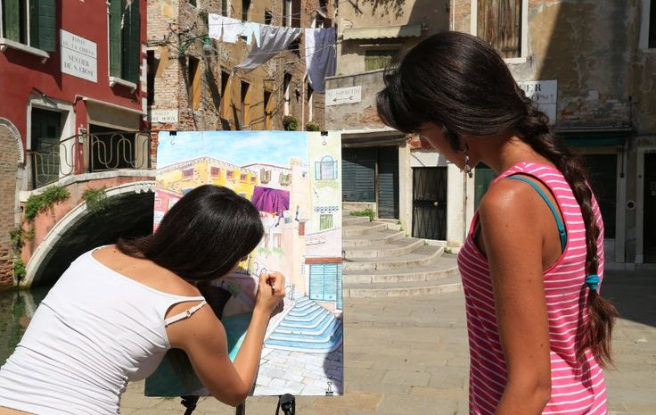 Drawing and painting courses in Venice, Italy
