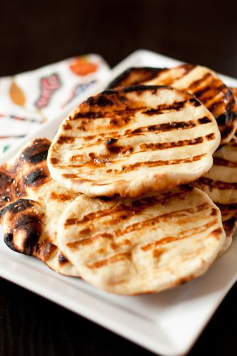 Naan bread recipe...definitely gonna try this! Love the naan they sell at the grocery store but fresh has to be better!