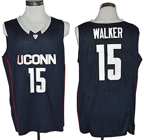 WEENKS Men's Kemba Walker 15 College Basketball Team Uconn Huskies Jersey - http://basketballjerseys.nationalsales.com/weenks-mens-kemba-walker-15-college-basketball-team-uconn-huskies-jersey/