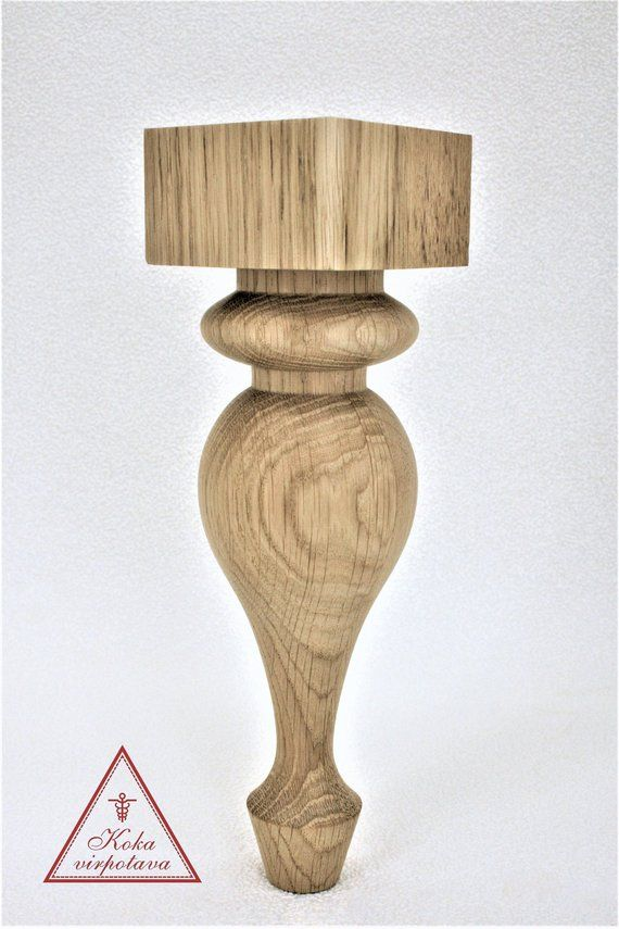 Handmade Wooden Leg Furniture Leg Coffee Table Leg Sofa Leg Etsy Furniture Legs Wood Furniture Legs Farmhouse Table Legs