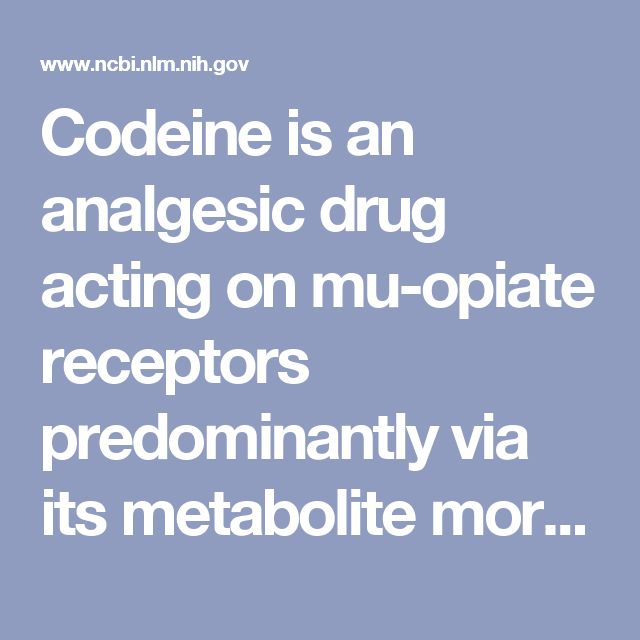 Codeine is an analgesic drug acting on mu-opiate receptors predominantly via its metabolite morphine, which is formed almost exclusively by the genetically polymorphic enzyme cytochrome P450 2D6 (CYP2D6). Whereas it is known that individuals lacking CYP2D6 activity (poor metabolizers, PM) suffer from poor analgesia from codeine, ultra-fast metabolizers (UM) due to the CYP2D6 gene duplication may experience exaggerated and even potentially dangerous opioidergic effects and no systematical…