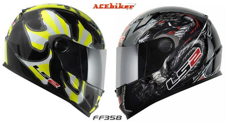 LS2 helmets FF358 with air pump system  Warrior vs. Dragon wallpaper