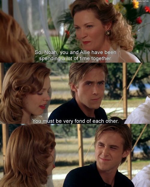the notebook you must be very fond of each other - Google Search