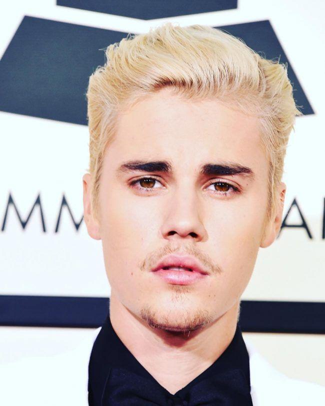 Estilos de cabello rubio de moda Justin Bieber para el 2016 //  #2016 #Bieber #cabello #Estilos #Justin #moda #para #Rubio