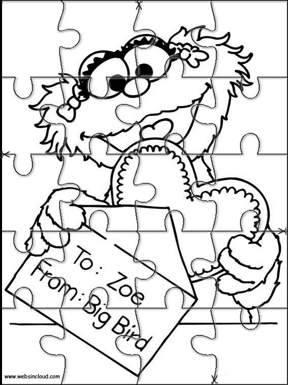 300 best Sesame Street Coloring Pages and Crafts images on