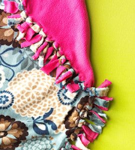 No-Sew Fleece Blanket | Craft for the Home | Quick & Easy Craft — Country Woman Magazine