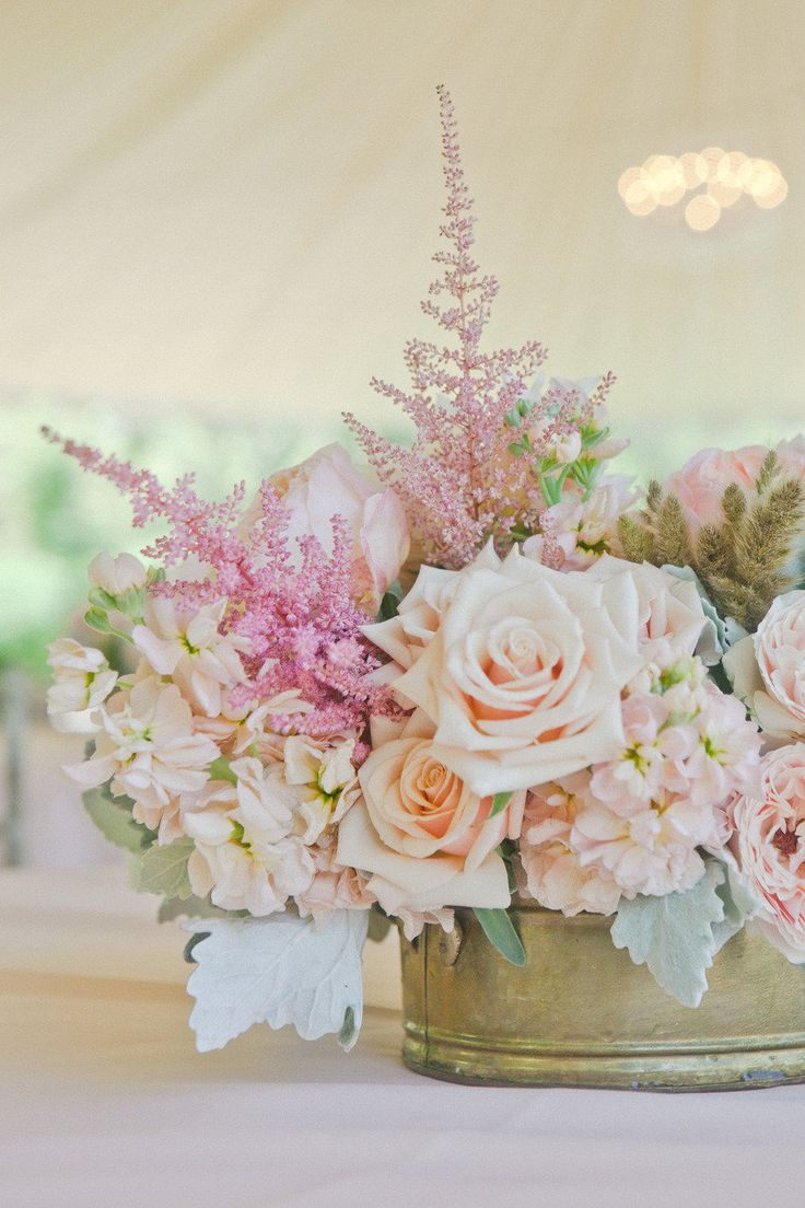 17 best images about pastel wedding flowers on pinterest for Pastel colored flower arrangements