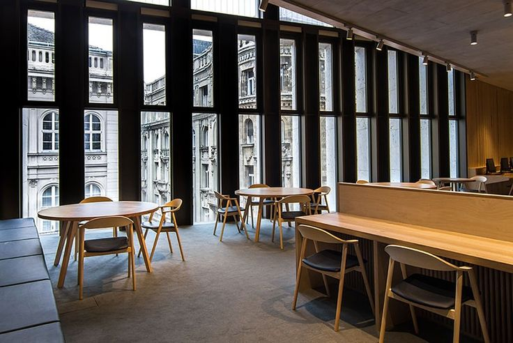 CEU Library #basiccollection #library #project #furniture #interior #beautiful #design #chairs