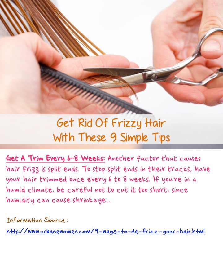 how to get rid of frizzy hair fast naturally