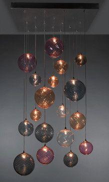 GLOBE Chandelier - contemporary - chandeliers -