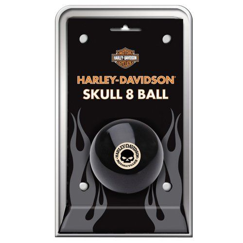 Harley-Davidson® Skull 8-Ball by Harley-Davidson. $14.66. H-D® Skull 8 Ball adds attitude to your play!